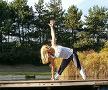 Annemarie, Yin Yoga, Trikonasana